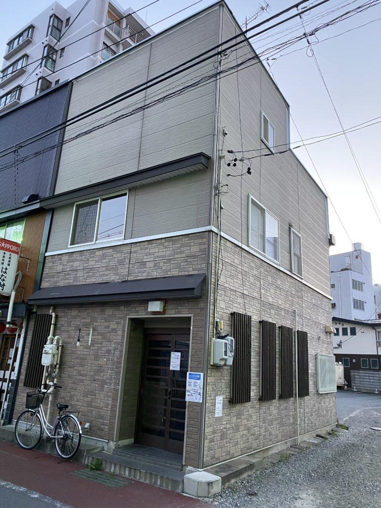 さわの庵の入る予定の建物の写真