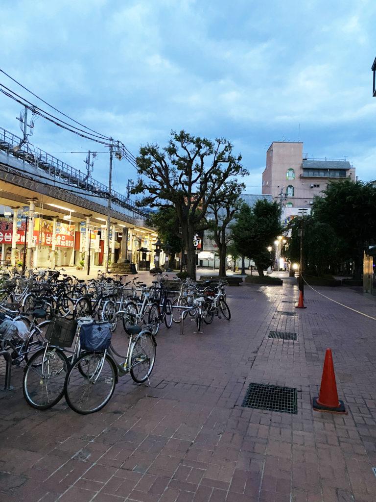 イトーヨーカドー長野店跡の前の広場