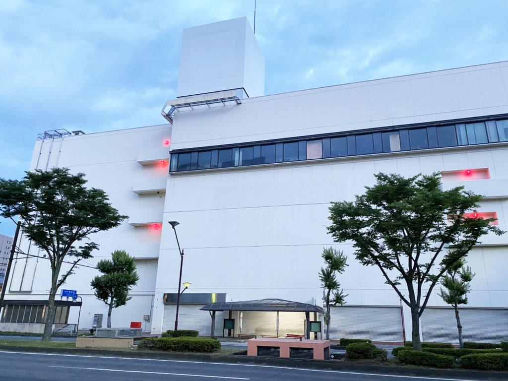 閉店したイトーヨーカドー長野店の風景