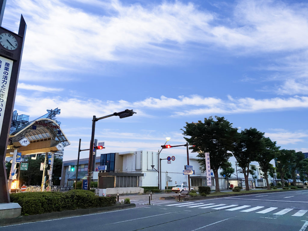 2階建てに減築されたイトーヨーカドー長野店の入居していた長電権堂駅前ビルの想像図(筆者合成)